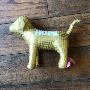 Hope Gold PINK Dog